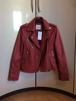 Куртки - Mango кожаная косуха 44-46 размер 162 рост…, 0