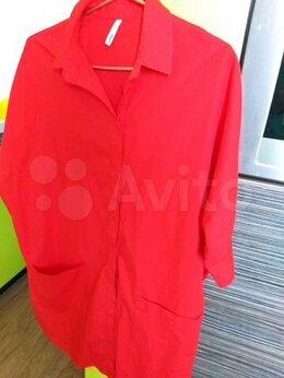 Блузки и кофточки - Рубашка- туника  хлопок, 0