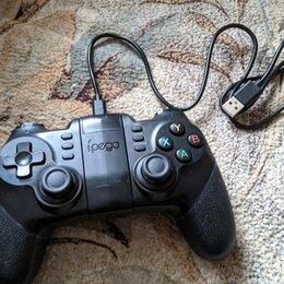 Рули, джойстики, геймпады - Геймпад Ipega PG-9076 для ПК/смартфона/Xbox/PS, провод/беспровод, 0