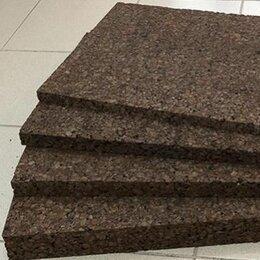 Пробковый пол - Черный агломерат Izora, толщина 40 мм, вставки…, 0