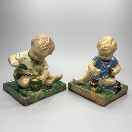 """Фигурки и наборы - Редкость! """"Играющие дети"""". Ребенок с кубиками и…, 0"""