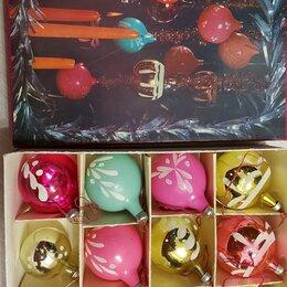 Ёлочные украшения - Елочные шары 1983 год в упаковке 12 штук раритет бутик Латвия, 0