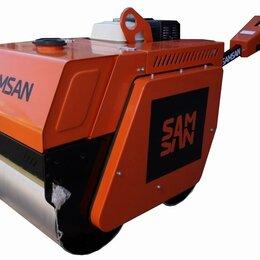 Навесное оборудование - Ручной двухвальцовый дорожный каток SAMSAN DDR 600, 0