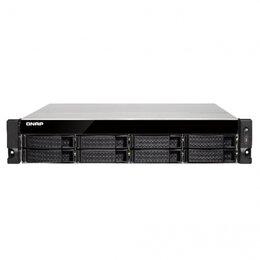 Сетевые накопители - Сетевое хранилище QNAP TS-853BU-RP-4G, 0