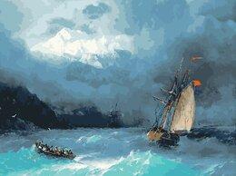 Картины, постеры, гобелены, панно - Картина по номерам Бурное море (Айвазовский) 40*50, 0