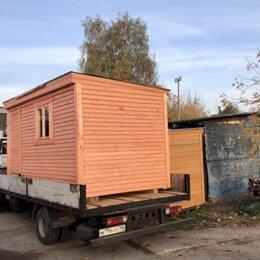 Готовые строения - Бытовка деревянная новая 4х2.30 А-114, 0