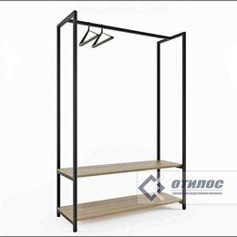 Мебель для учреждений - Вешалка стеллаж для одежды (отилос.мет 011), 0
