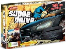 Ретро-консоли и электронные игры - Игровая приставка 16 bit Super Drive GTA V (140…, 0