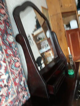 Комоды - Зеркало настенное с ящичками для бижутерии., 0