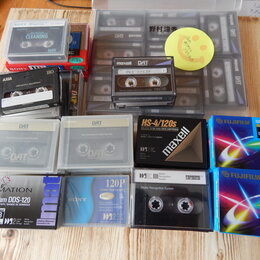 Диски - DAT кассеты, 0