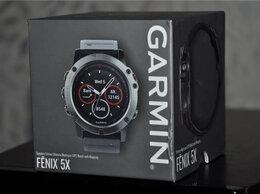Умные часы и браслеты - Garmin Fenix 5X Sapphire (новые, открыты), 0