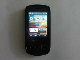 Мобильные телефоны - Alcatel One Touch 602 Black сенсорный, 0