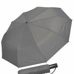 Зонты и трости - Зонт мужской серый антрацит AYOK60HBG из Японии, 0