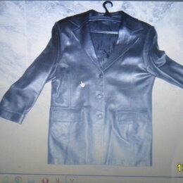Пиджаки - Пиджак из натуральной кожи., 0