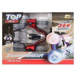 Радиоуправляемые игрушки - Машина р/у 8028/695206В Перевертыш на аккум, 0
