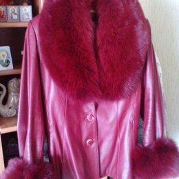 Куртки - Куртка натуральная кожа, песец, 0