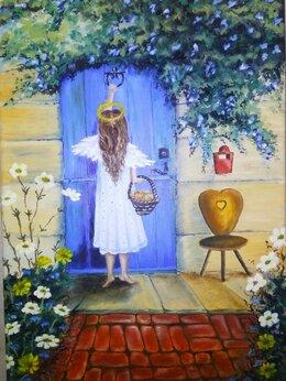 Картины, постеры, гобелены, панно - Ангел , 0