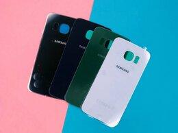 Корпусные детали - Задняя крышка Samsung Galaxy S6 Edge, 0