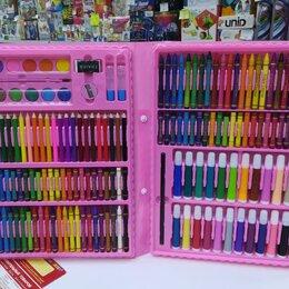 Рисование - Художественный набор 208 предметов, розовый, 0