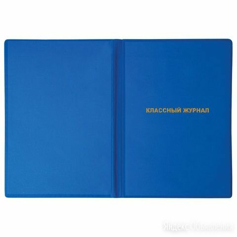 Обложка для классного журнала 305х475 мм, ПИФАГОР, непрозрачная, плотная, тиснен по цене 54₽ - Обложки для документов, фото 0