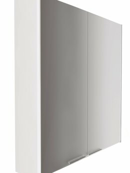 Шкафы, стенки, гарнитуры - Зеркальный шкаф Gaula 60 2д.White, 0
