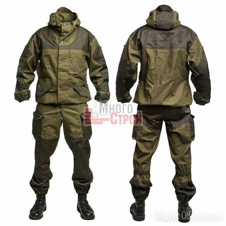 Костюм «Горка-3» цвет Хаки размер 46-4 (176-92-80) (ткань Палатка 100% хлопок) по цене 3150₽ - Одежда и обувь, фото 0