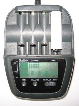 Зарядные устройства для стандартных аккумуляторов - Универсальное ЗУ автомат ECO CHARGER SAITEC, 0