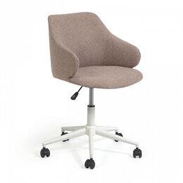 Компьютерные кресла - Офисный стул на колесиках розовый Einara от La…, 0