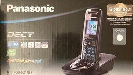 Проводные телефоны -  Радиотелефон Panasonic KX-TG8421RU, 0