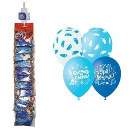 Воздушные шары - Воздушные шары, 5шт., М12/30см, Поиск «К…, 0