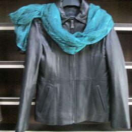 Куртки - Куртка натуральная лайковая оригинальная кожа., 0