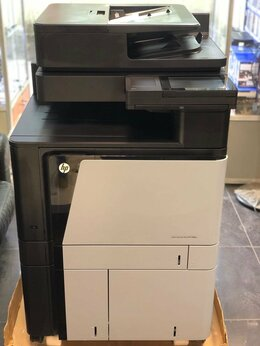 Принтеры и МФУ - Мфу, принтер лазерный HP m880z+a3, 0