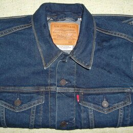 Куртки - Новая джинсовая куртка Levi's  (М), 0
