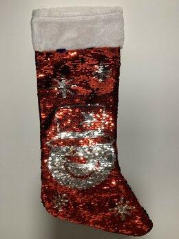Подарочная упаковка - Нинбо Чулок рождественский с двухсторонними…, 0
