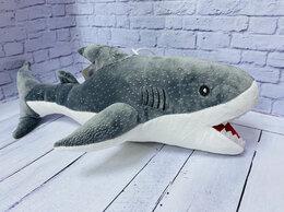 Мягкие игрушки - Мягкая игрушка Акула 40 см, 0