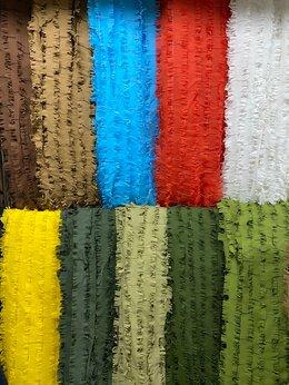 Заборчики, сетки и бордюрные ленты - Маскировочная сеть листовик , 0