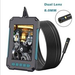Видеокамеры - эндоскоп с 2 камерами (сбоку) , 0