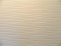 Стеновые панели - 3Д панель Волна двойная острая , 0