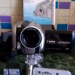 Видеокамеры - Victor  GZ-MG70 – цифровая видео-фото камера, HDD 30Gb, пульт, сумка, 0