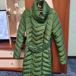 Пуховики - Пуховик зеленый, 0