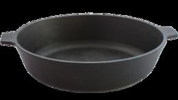 Сковороды и сотейники - Сковорода с двумя ушками (камская посуда), у8080, 0