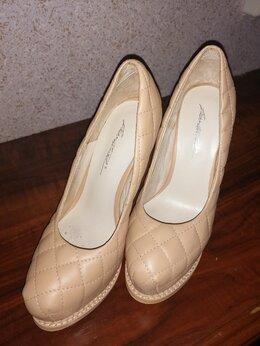 Туфли - Туфли кожаные на шпильке, 0
