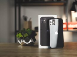 Мобильные телефоны - iPhone 11 128Gb black (черный), 0