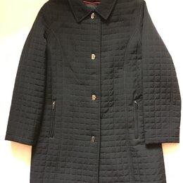 Пальто - Стильное стёганое пальто на синтепоне новое, 0