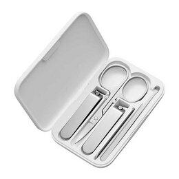 Приборы для ухода за телом - Маникюрный набор Xiaomi MIjia Splash-proof nail clippers Set version 5in1, 0