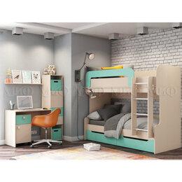Кроватки - Детская комната Юниор-1 Вариант №3, 0