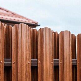 Заборы, ворота и элементы - Забор из евроштакетника, 0