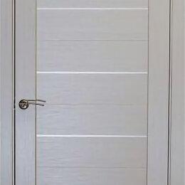 Межкомнатные двери - Дверь 80см ДГ «Легро» дуб молочный ПВХ, 0