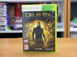 Игры для приставок и ПК - Deus Ex Human Revolution - Xbox 360 Б.У (Обмен), 0