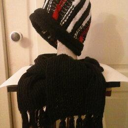 Головные уборы - комплект шапка и шарф , 0